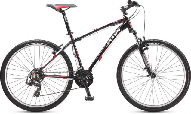 Biketopia - Jamis 2013 Trail X1 Mountain Bike Gloss Black