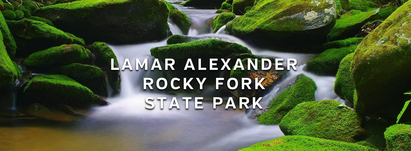 Lamar Alexander Rocky Fork State Park Tennessee 1387px
